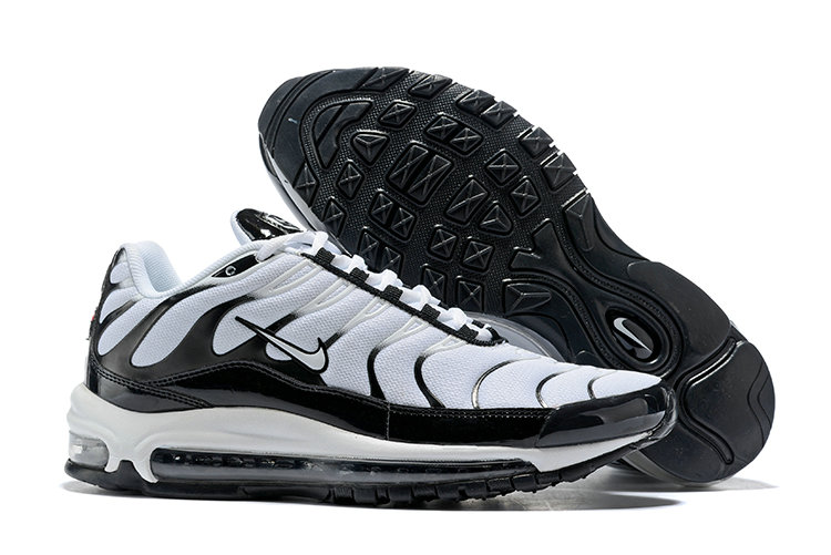 Cheap Nike Air Max Tn x Air Max 97 Mens White Black