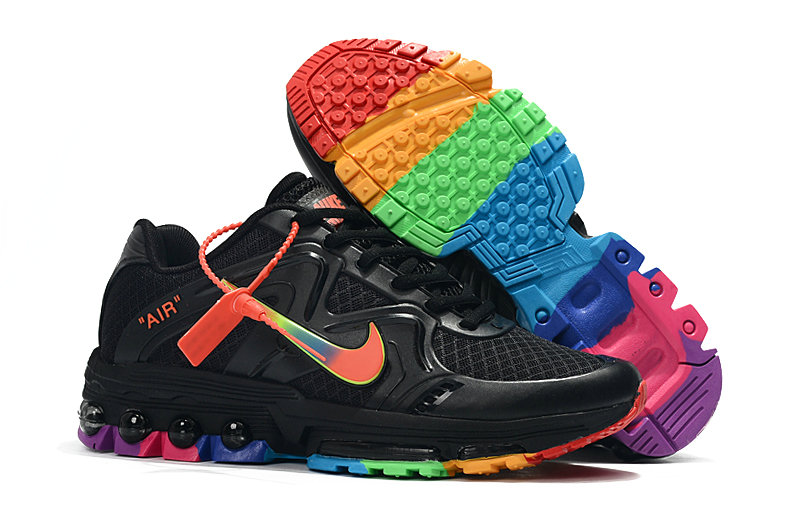 Cheap Nike Air Maxs 2019 Womens Black Rainbow Be True