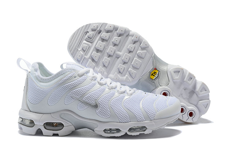 Cheap Nike Air Maxs Plus TN Ultra Grey White