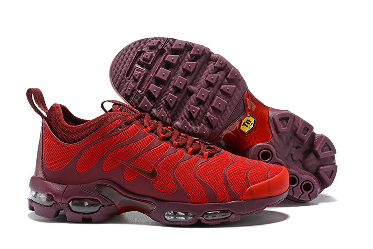 Cheap Nike Air Maxs Plus TN Ultra Wine University Red