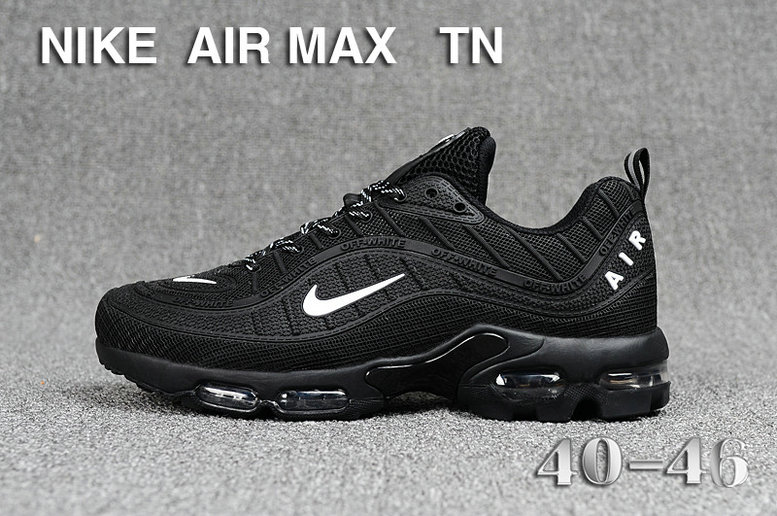Cheap Nike Air Maxs TN OG Black White 2019 New Arrival