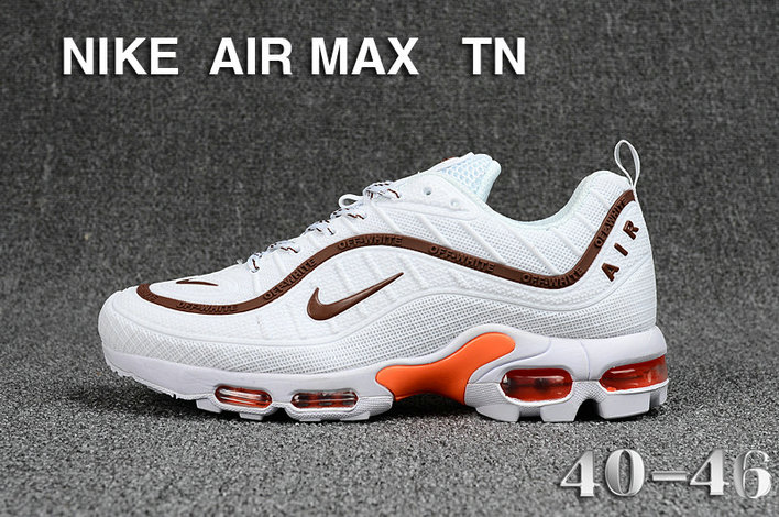 Cheap Nike Air Maxs TN OG Brown White Orange 2019 New Arrival