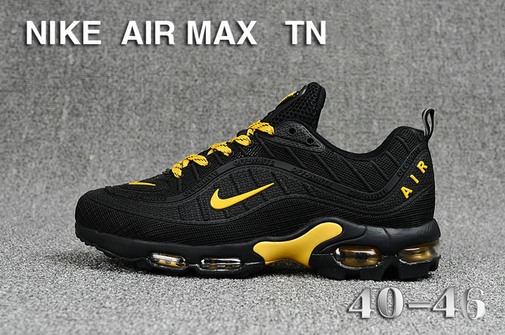 Cheap Nike Air Maxs TN OG Gold Black 2019 New Arrival