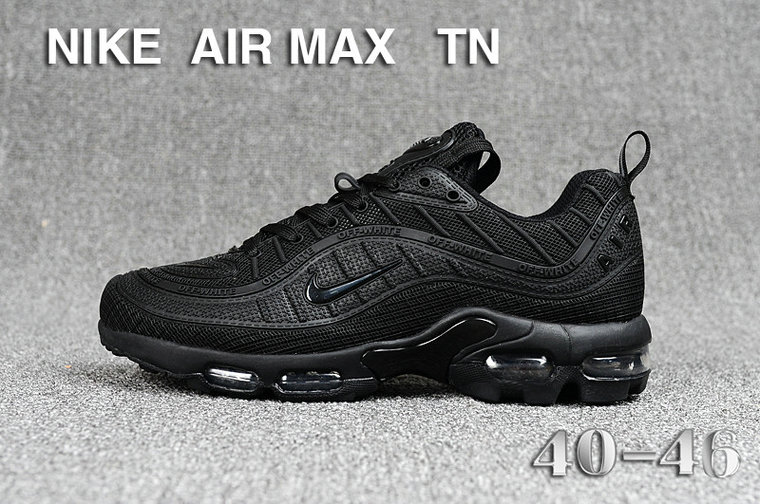 Cheap Nike Air Maxs TN OG Triple Black 2019 New Arrival