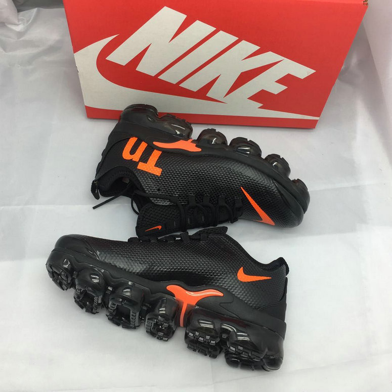 Cheap Nike Air Maxs TN Plus VaporMax Orange Black