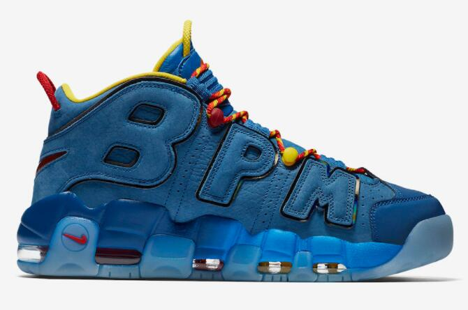 Cheap Nike Air More Uptempo Doernbecher Blue Jay Gym Red-Team Orange