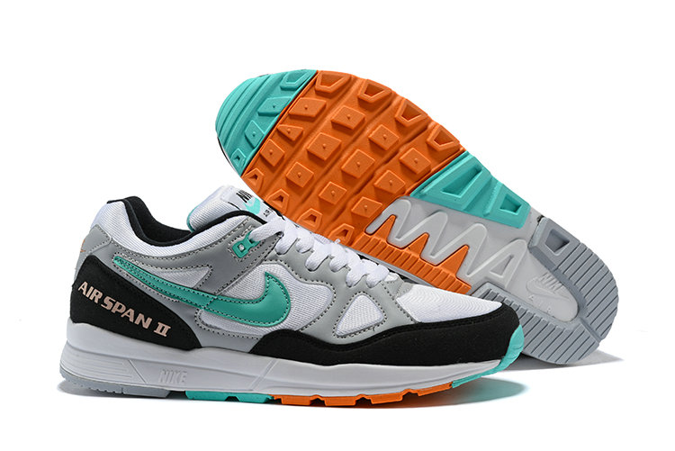 Cheap Nike Air Span II Apple Green Grey Black White
