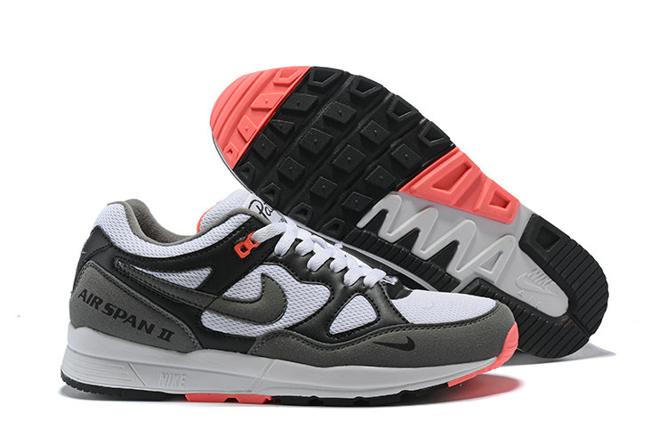 Cheap Nike Air Span II Black White Pink