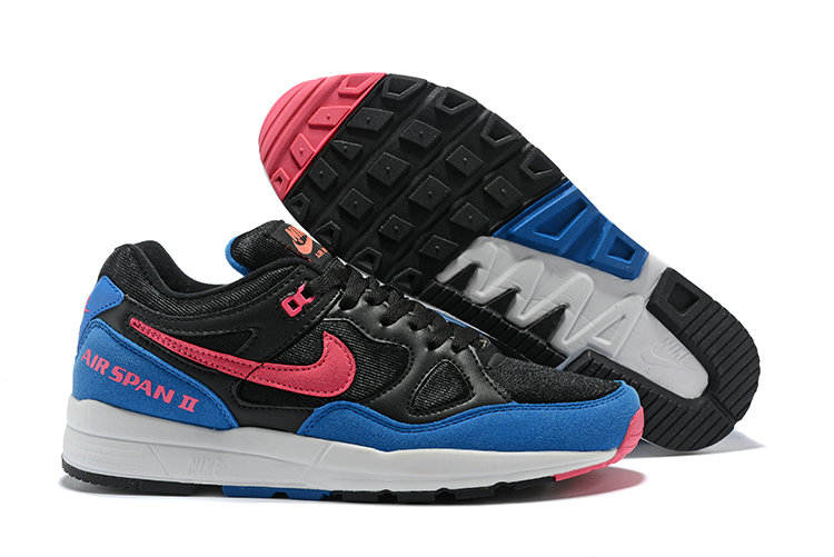 Cheap Nike Air Span II Blue Pink Black White