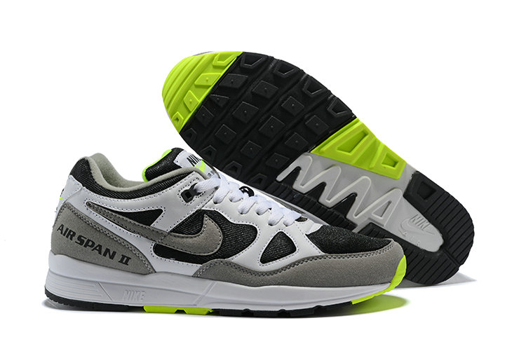 Cheap Nike Air Span II Green Black White