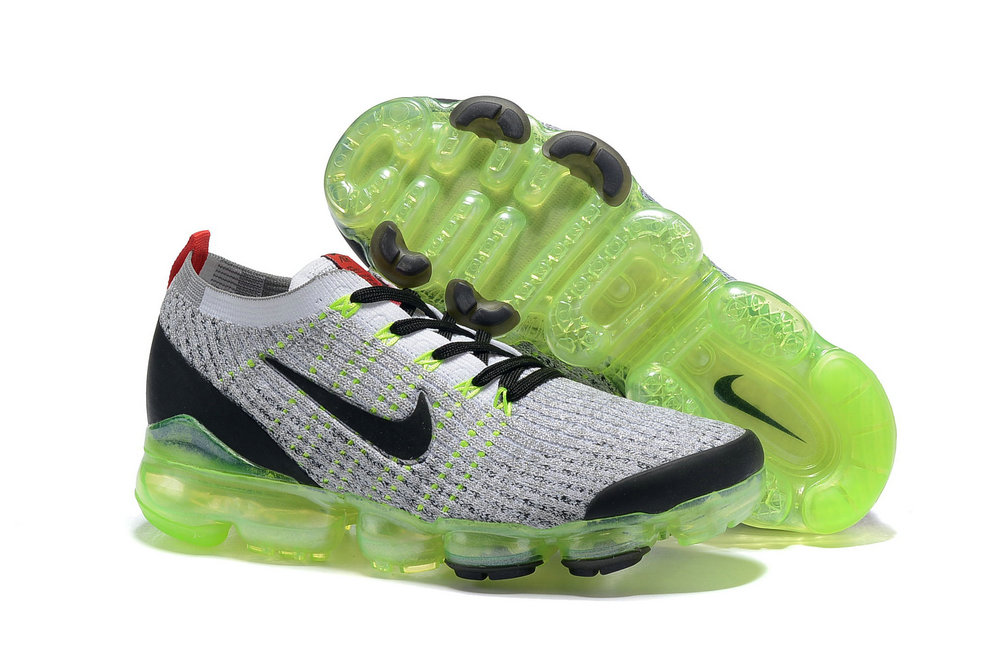 Cheap Nike Air VaporMax 3.0 White-Black-Volt-Bright Crimson-Metallic Silver AJ6900-100