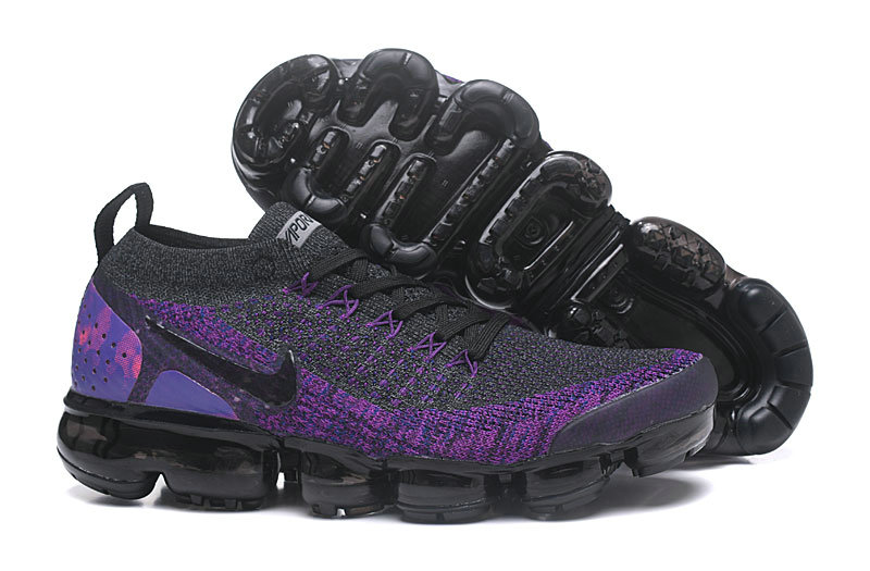 Cheap Nike Air VaporMax Flyknit 2 Dark Grey Purple 942842 600