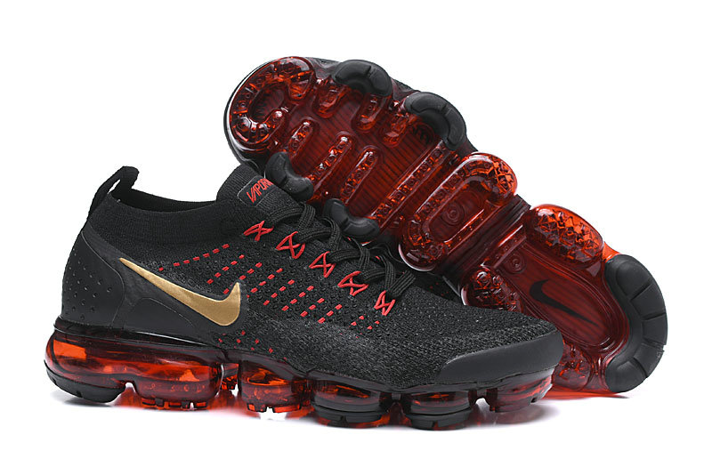 Cheap Nike Air VaporMax Flyknit 2.0 Chinese New Year Black Red BQ7036-001