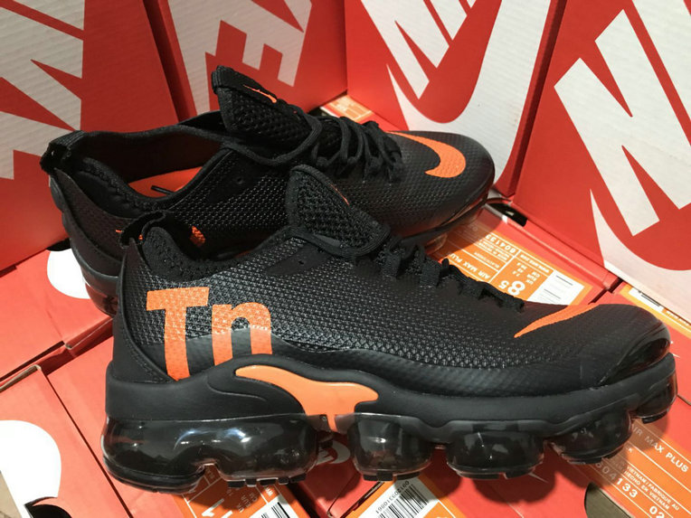 Cheap Nike Air VaporMax Plus TN Black Orange