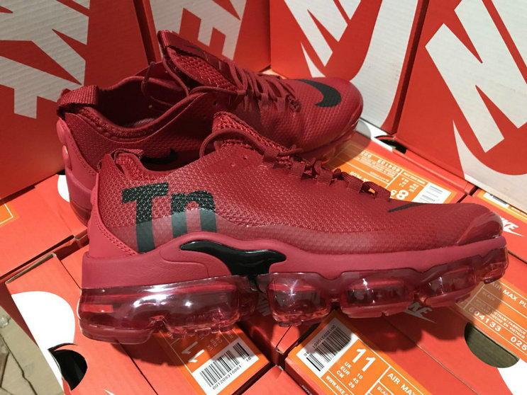 Cheap Nike Air VaporMax Plus TN Wine Red Black