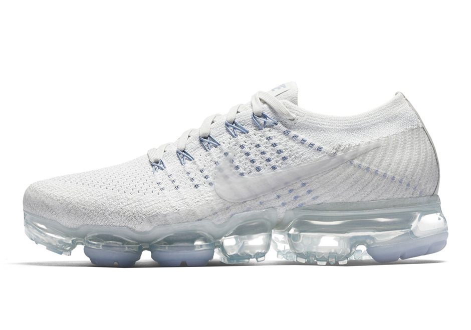 Cheap Nike Air VaporMax Triple White Blue Womens
