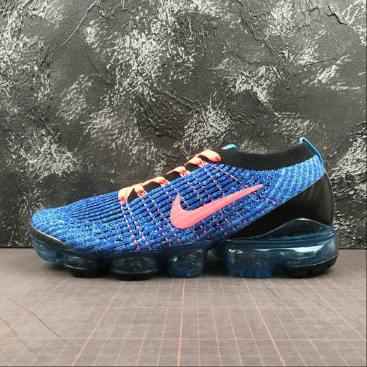 Cheap Nike Air Vapormax FLYKNIT 3 2018 Blue Fury Flash Crimson Bleu Electrique 2 AJ6900-401
