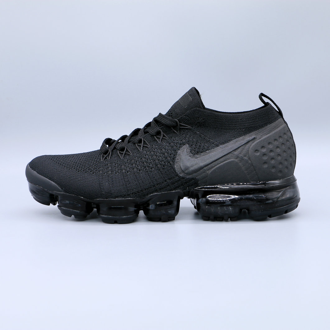 Cheap Nike Air Vapormax Flyknit 2.0 Triple Black Noir Blanc