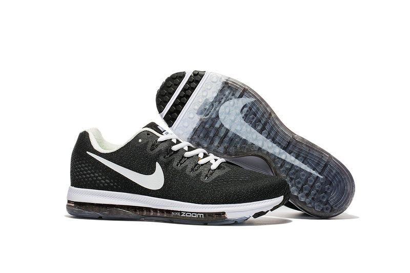 Cheap Nike Air Zoom All Out Flyknit Mens Black Grey White