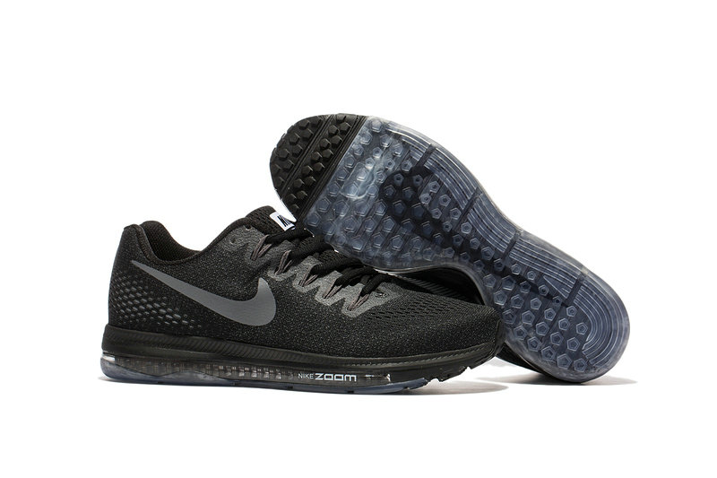 Cheap Nike Air Zoom All Out Flyknit Mens Grey Black