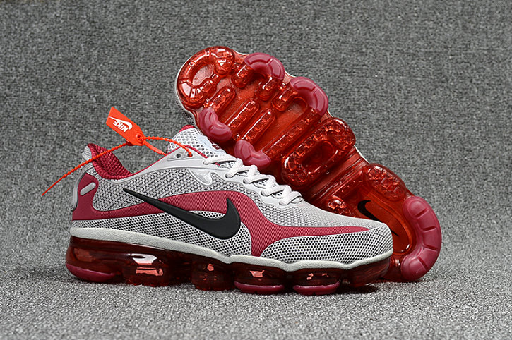 Cheap Nike AirMax 2018 Mens Sneakers MD Wine Red Grey Fire Red