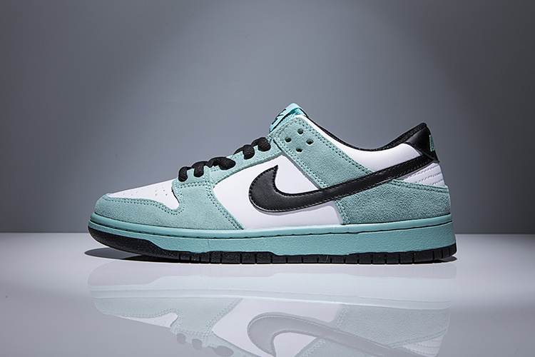 Cheap Nike Dunk Low TRD 819674-301 White Black Green