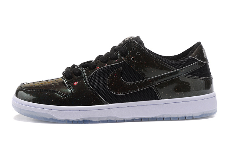 Cheap Nike Dunk Low TRD 883232-001 Leather Black White
