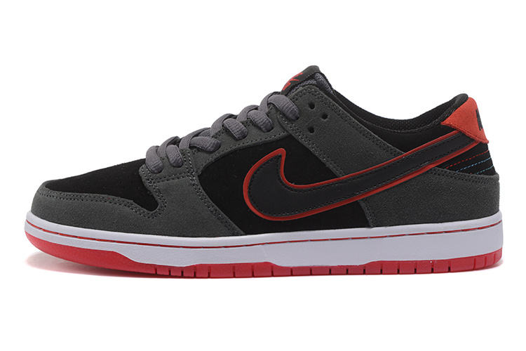Cheap Nike Dunk Low TRD 895969-006 Grey Red Black White
