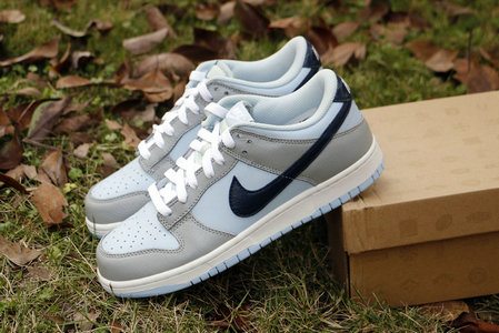 Cheap Nike Dunk SB Low Mens Black Grey White Light Blue