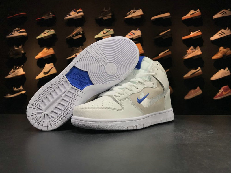 Cheap Nike Dunk SB Soulland AH9613 141 Blue White
