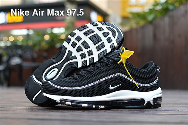 detailed look 165cb c1d6e Cheap Nike Flyknit Air Max 97 Black White - Cheap Nike Air ...