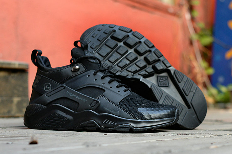 New 2018 Nike Huarache Cheap x Nike Air Huarache Fragment  HTM Black