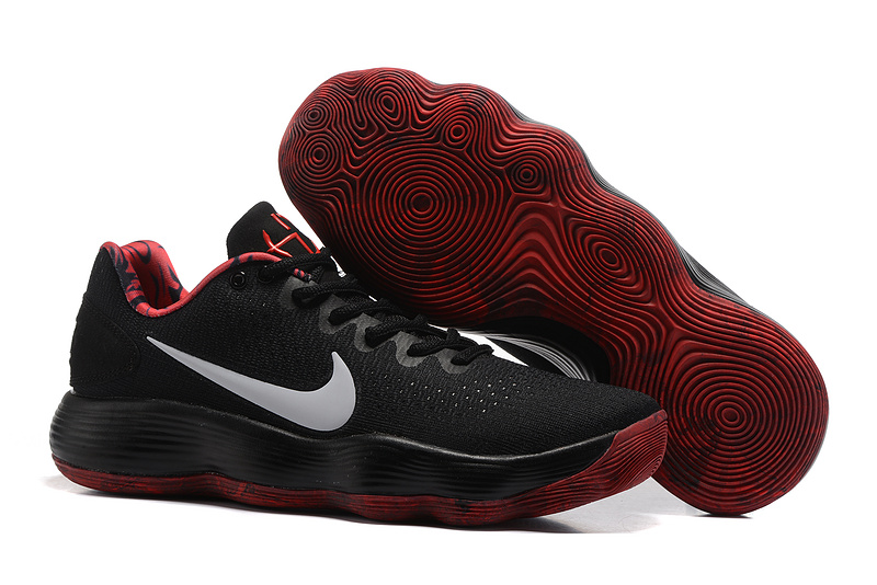 Cheap Nike Hyperdunk 2017 Low Black Red For Sale