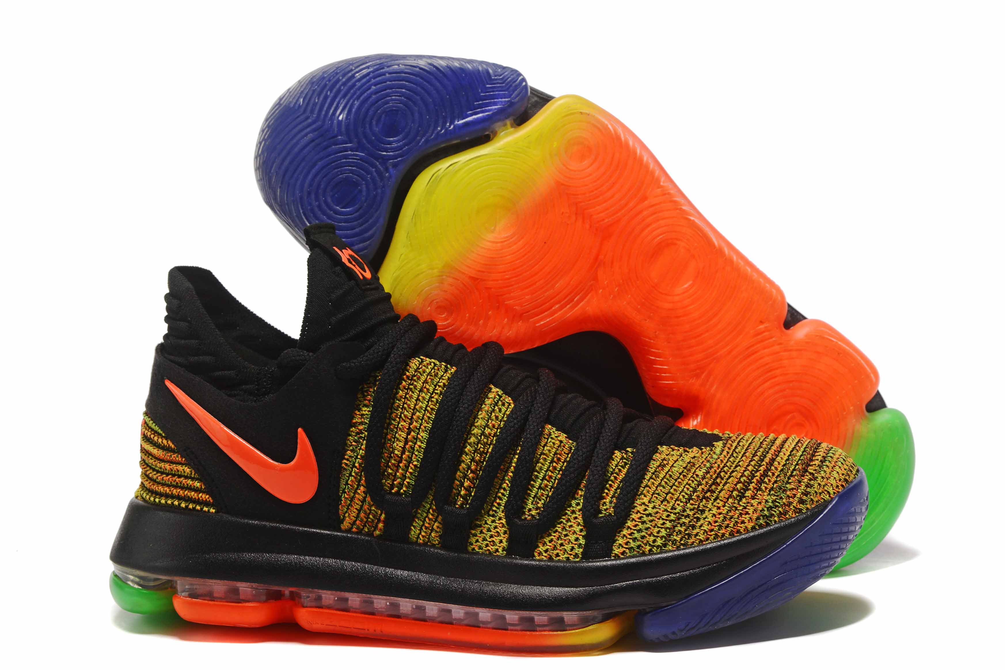 af7134d1c4b Cheap Nike KD 10 EYBL Peach Jam Multi-Color For Sale - Cheap Nike ...