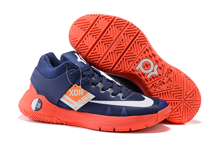 Cheap Nike KD Trey 5 IV Obsidian Bright Crimson Deep Royal Blue White For Sale