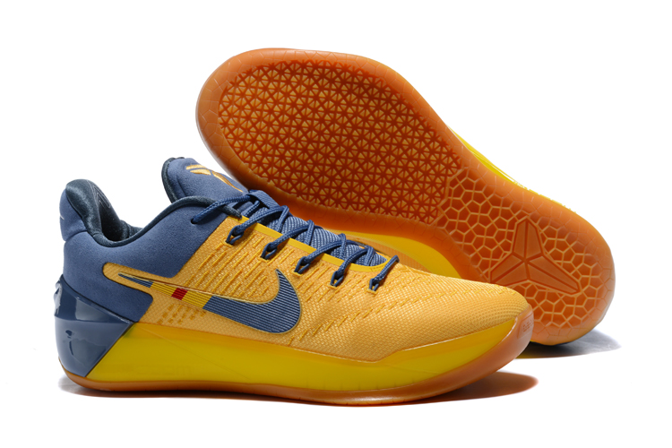 Cheap Nike Kobe A.D. Bruce Lee Yellow Navy Blue For Sale