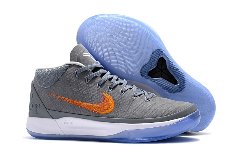 Cheap Nike Kobe A.D. Mid Grey Snake Chrome Habanero Red-Circuit Orange