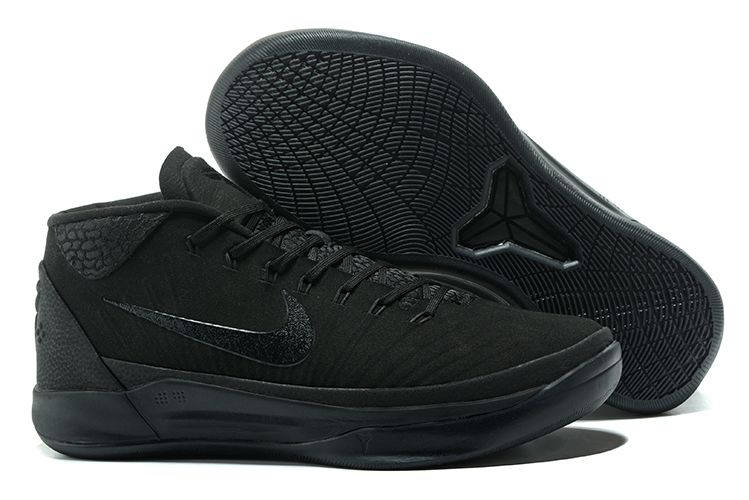 Cheap Nike Kobe A.D. Mid Triple Black For Sale