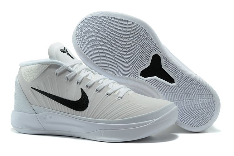 Cheap Nike Kobe A.D. Mid White Black For Sale