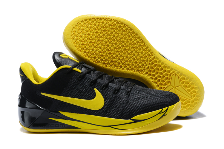 Cheap Nike Kobe A.D. Oregon Black Yellow Strike For Sale