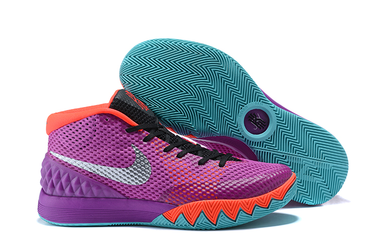 Cheap Nike Kyrie 1 Easter Medium Berry Metallic Silver-Hot Lava-Black