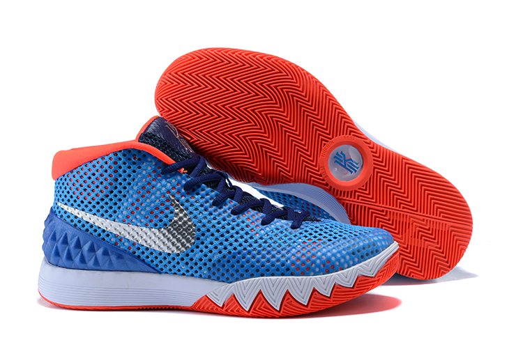 Cheap Nike Kyrie 1 USA Blue Red-White For Sale