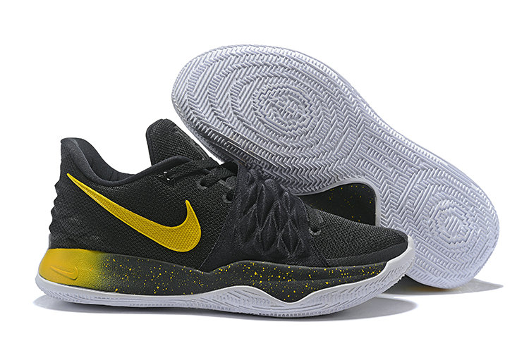 Cheap Nike Kyrie Flytrap Irvings Basketball Shoes Black Yellow White
