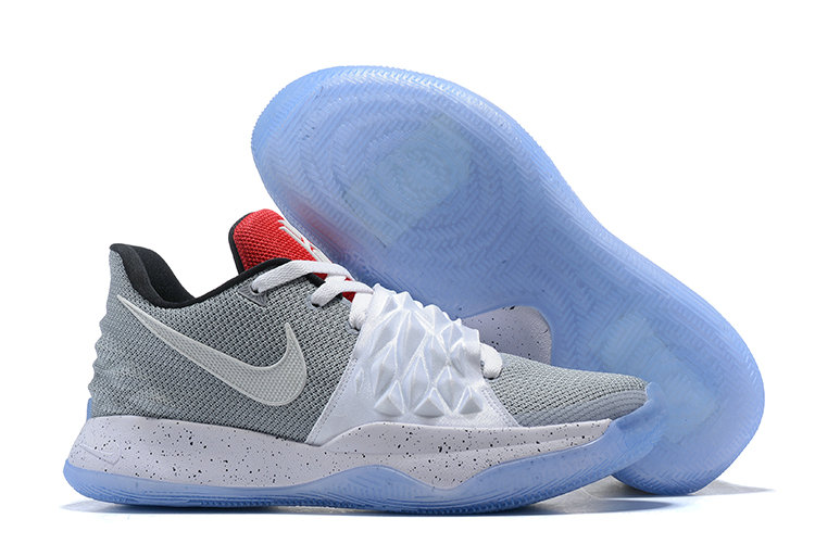 Cheap Nike Kyrie Flytrap Irvings Basketball Shoes White Cold Grey