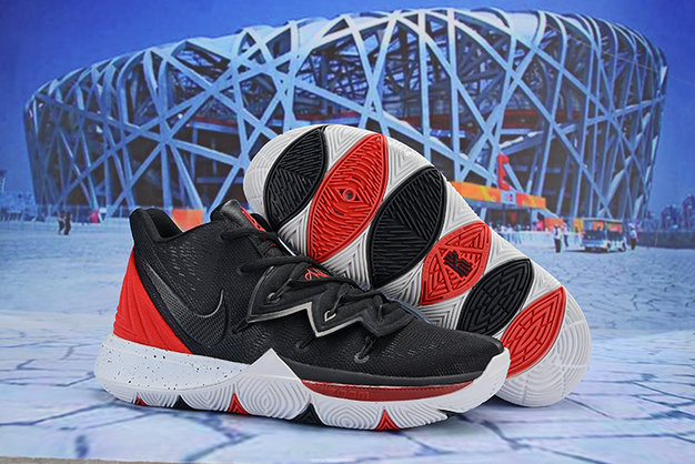 Cheap Nike Kyrie Irving 5 Red Black White