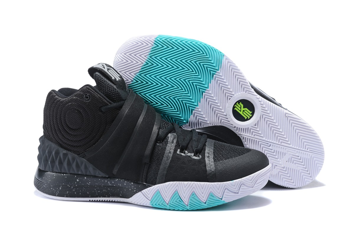 Cheap Nike Kyrie S1 Hybrid Black White Teal For Sale