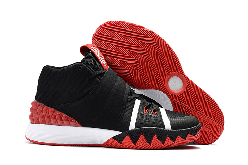 Cheap Nike Kyrie S1 Hybrid Bred Black Red-White For Sale