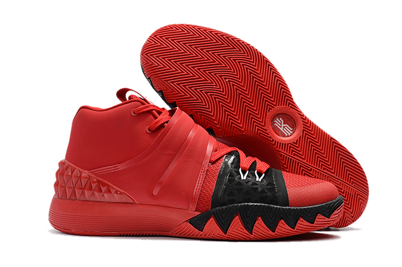 Cheap Nike Kyrie S1 Hybrid Red Black-White For Sale