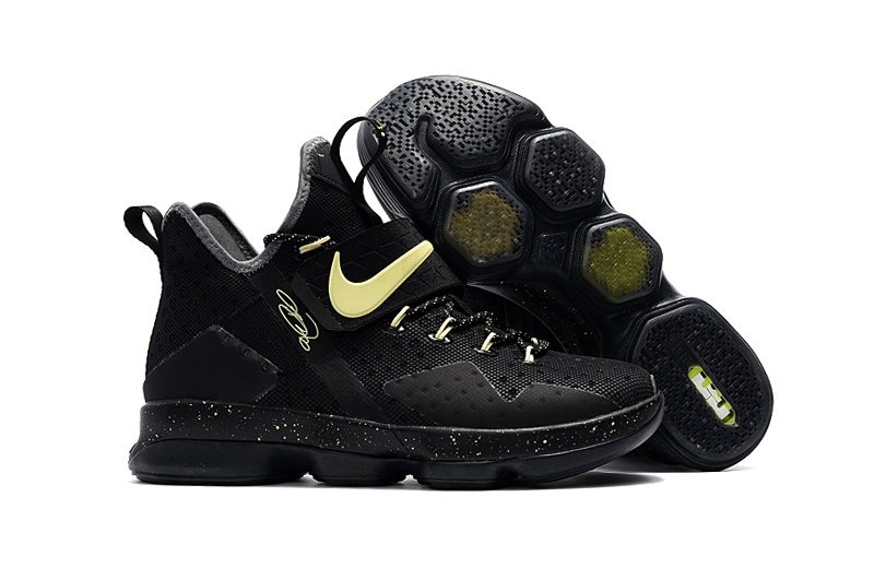 Cheap Nike LeBron 14 Black Glow In The Dark For Sale
