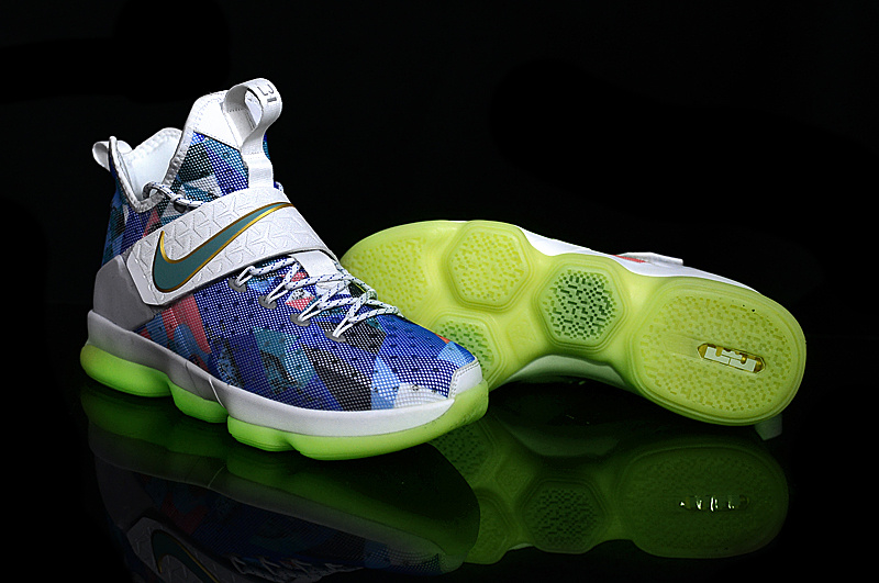 Cheap Nike LeBron 14 Rio Glow In The Dark For Sale